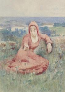 Art Prints of Moyen Age by Theodore Robinson