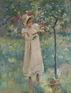 Art Prints of The Plum Tree by Theodore Robinson
