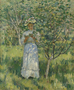 Art Prints of Sunlight and Shadows by Theodore Robinson