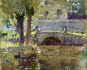 Art Prints of The bridge at Giverny by Theodore Robinson