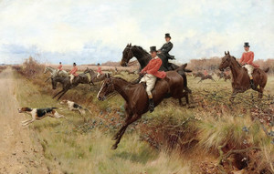 Art Prints of A Day in Leicestershire by Thomas Blinks