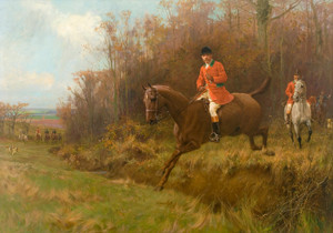 Art Prints of The Fox Hunt by Thomas Blinks