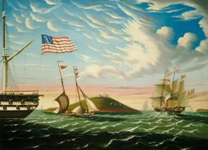 Art Prints of Boston Harbor by Thomas Chambers