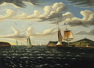 Art Prints of Staten Island and the Narrows by Thomas Chambers