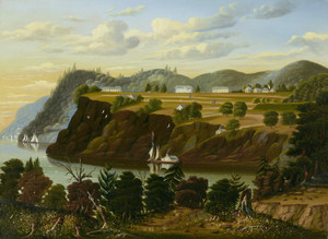 Art Prints of View of West Point by Thomas Chambers