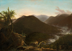 Art Prints of Sunrise in the Catskills by Thomas Cole
