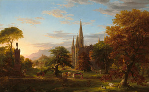 Art Prints of The Return 1837 by Thomas Cole