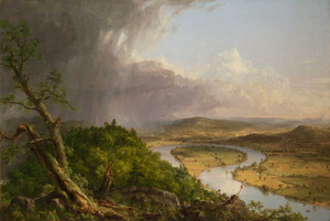 Art Prints of The Oxbow, the Connecticut River near Northampton by Thomas Cole