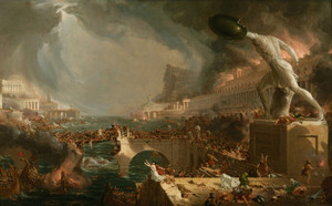 Art Prints of The Course of Empire, Destruction, 1836, by Thomas Cole