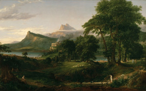 Art Prints of The Course of Empire, the Arcadian or Pastoral State by Thomas Cole
