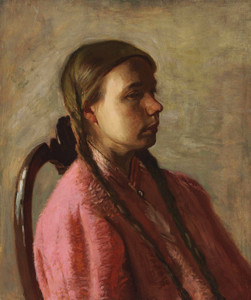 Art Prints of Betty Reynolds by Thomas Eakins