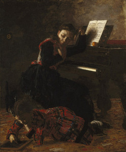Art Prints of Home Scene by Thomas Eakins