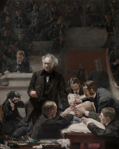 Art Prints of The Gross Clinic, a Portrait of Dr. Samuel D. Gross by Thomas Eakins