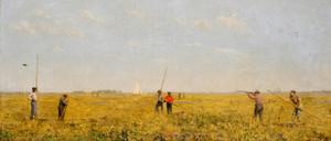 Art Prints of Pushing for Rail by Thomas Eakins