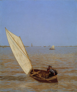 Art Prints of Starting Out After Rail by Thomas Eakins