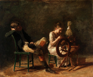 Art Prints of The Courtship by Thomas Eakins