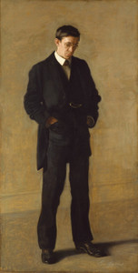 Art Prints of The Thinker by Thomas Eakins