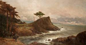 Art Prints of Cypress Point, Monterey by Thomas Hill