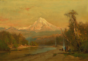 Art Prints of Indians of the Northwest, 1874 by Thomas Hill