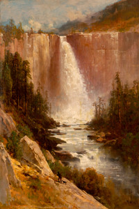 Art Prints of Nevada Falls, Yosemite by Thomas Hill
