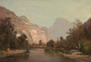 Art Prints of Royal Arches and Domes of Yosemite by Thomas Hill