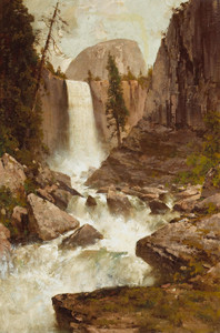 Art Prints of Vernal Fall, Yosemite by Thomas Hill