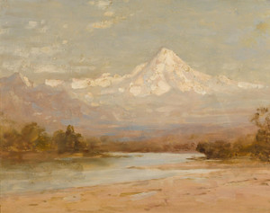 Art Prints of View of Mt. Hood by Thomas Hill