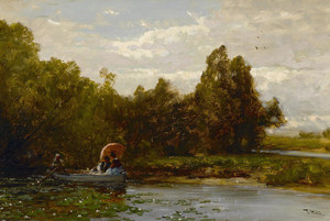 Art Prints of Tranquil Afternoon by Thomas Hill