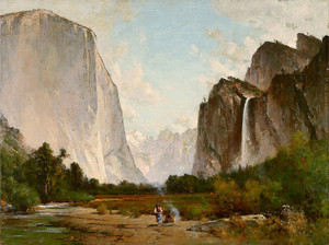 Art Prints of Yosemite, 1887 by Thomas Hill