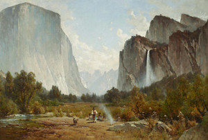 Art Prints of Yosemite Valley V by Thomas Hill