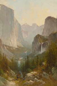 Art Prints of Yosemite Valley III by Thomas Hill