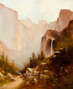 Art Prints of Yosemite Valley I by Thomas Hill
