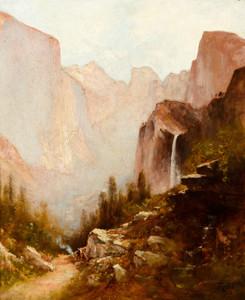 Art Prints of Yosemite Valley I by Thomas Hill