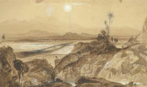 Art Prints of A View of Mexico by Thomas Moran