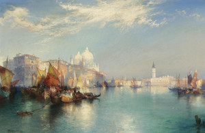Art Prints of Painting of Venice by Thomas Moran