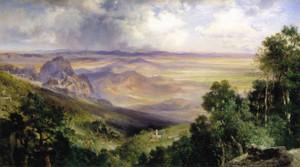 Art Prints of Valley of Cuernavaca by Thomas Moran