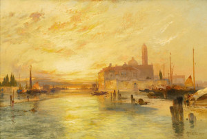 Art Prints of Venice by Thomas Moran