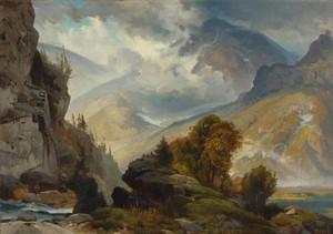 Art Prints of The White Mountains by Thomas Moran