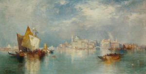 Art Prints of Venice II by Thomas Moran