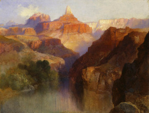 Art Prints of Zoroaster Peak by Thomas Moran
