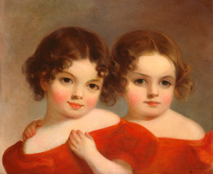 Art Prints of The Leland Sisters by Thomas Sully
