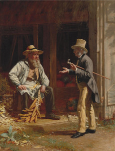 Art Prints of When We were Boys Together by Thomas Waterman Wood