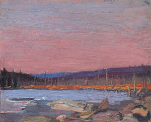 Art Prints of A Northern Lake by Tom Thomson