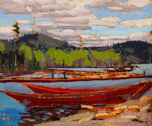 Art Prints of Bateaux by Tom Thomson