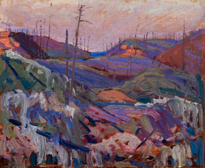 Art Prints of Fire Swept Hills by Tom Thomson