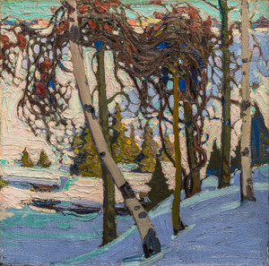 Art Prints of Early Snow, Winter by Tom Thomson