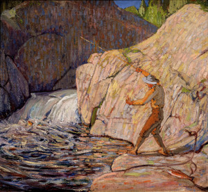 Art Prints of Fisherman, Winter by Tom Thomson