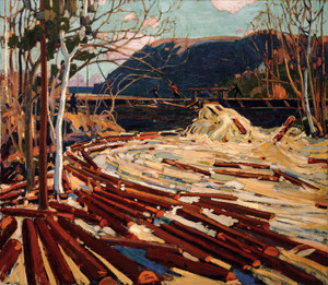 Art Prints of The Drive, Winter by Tom Thomson