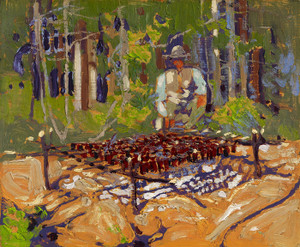 Art Prints of The Poacher by Tom Thomson