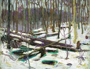 Art Prints of Winter, Algonquin Park by Tom Thomson